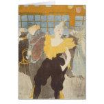 Le Clownesse dans le fard à joues, 1897 Carte