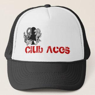 Le club Aces le casquette de camionneur de logo