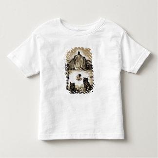 """Le club de village, """"du livre de jungle"""", par t-shirt pour les tous petits"""