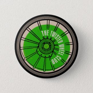 Le club tordu de roue badges
