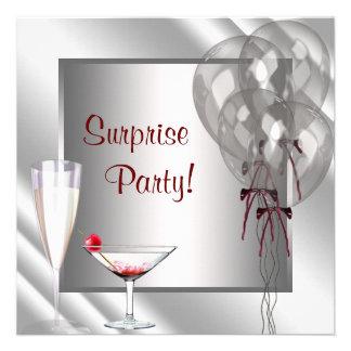 Le cocktail monte en ballon la fête d'anniversaire bristols personnalisés