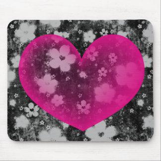 Le coeur #1 de Valentine Tapis De Souris