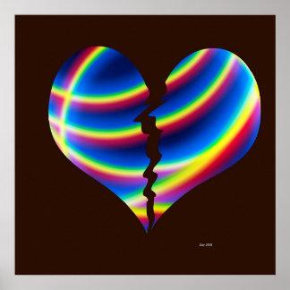 Le coeur brisé poster