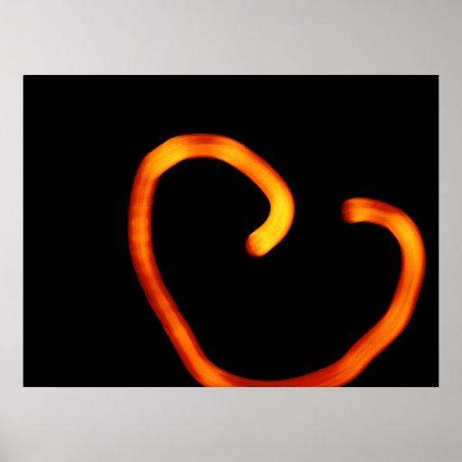 Le coeur brisé affiches