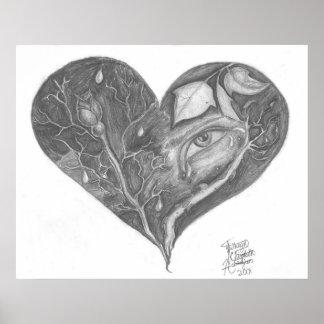 Le coeur brisé posters