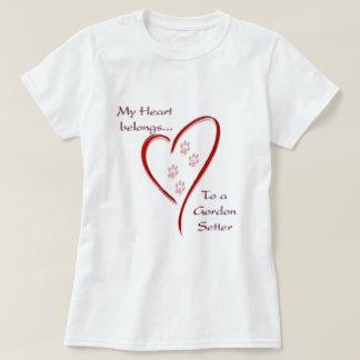 Le coeur de poseur de Gordon appartient T-shirt