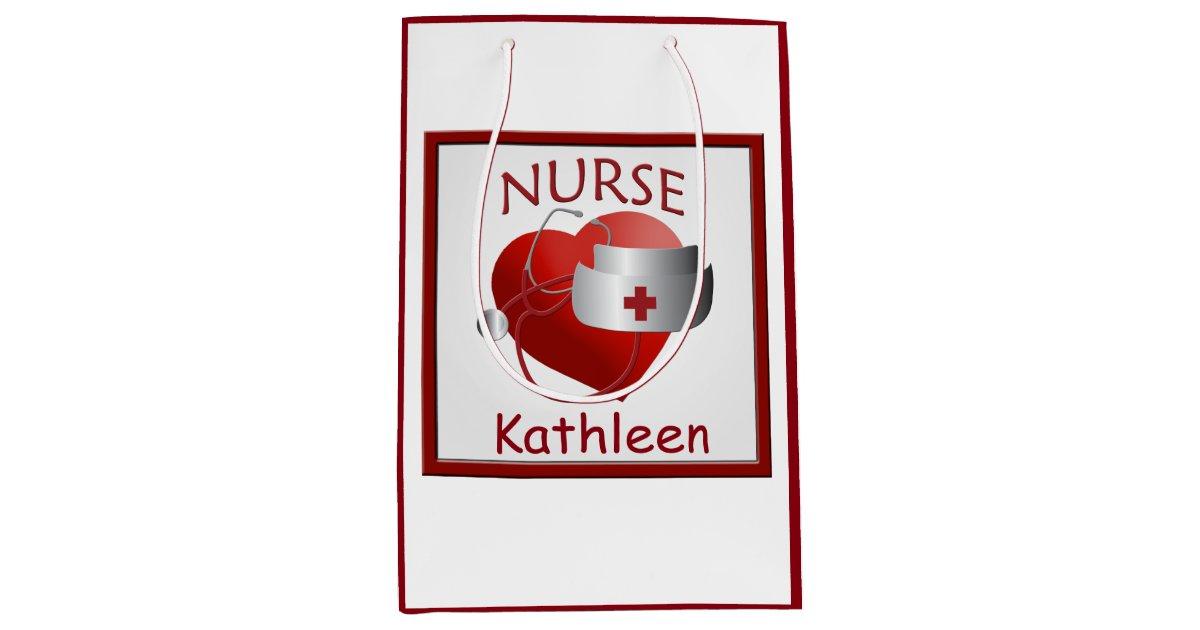 Le coeur d 39 infirmi re soigne le sac m dical fait sac - Ou acheter du papier cadeau ...