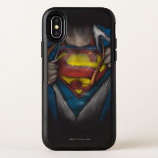 Le coffre de Superman | indiquent le croquis