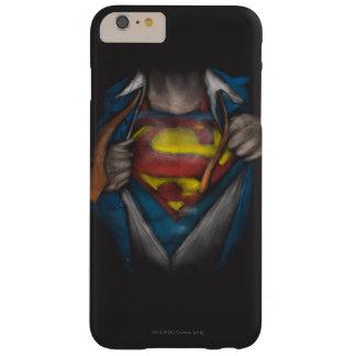 Le coffre de Superman | indiquent le croquis Coque Barely There iPhone 6 Plus