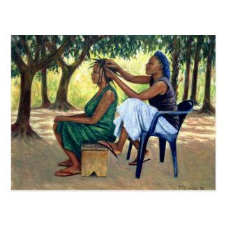 Le coiffeur 2001 cartes postales