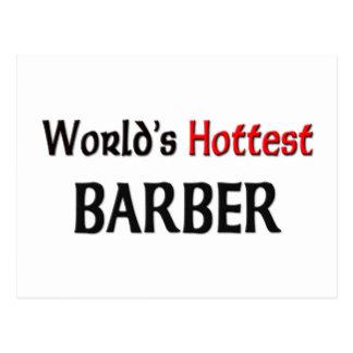 Le coiffeur le plus chaud des mondes carte postale