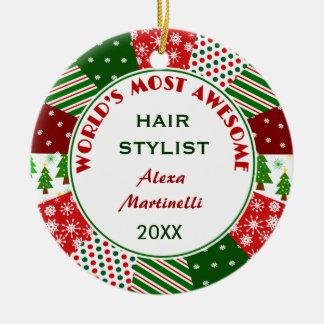 Le coiffeur le plus impressionnant 2016 ou toute ornement rond en céramique
