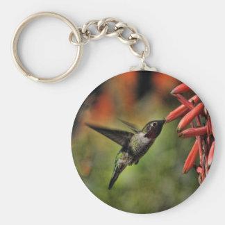 Le colibri 2 de Helaine Porte-clé Rond