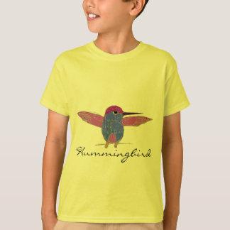 Le colibri badine des chemises t-shirt