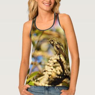 Le colibri d'Anna, la Californie, partout photo Débardeur