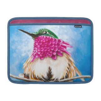 Le colibri de la côte poche pour macbook air