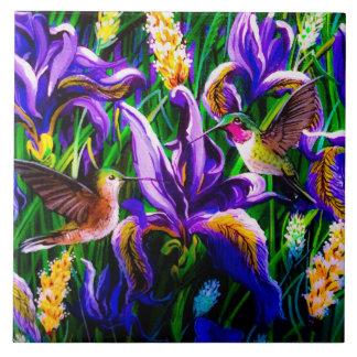 Le colibri rêve la tuile carreau