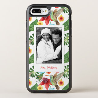 Le colibri tropical | ajoutent votre photo et coque otterbox symmetry pour iPhone 7 plus
