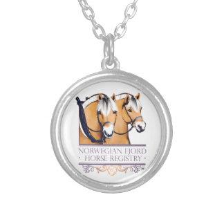 Le collier rond des femmes de logo de NFHR
