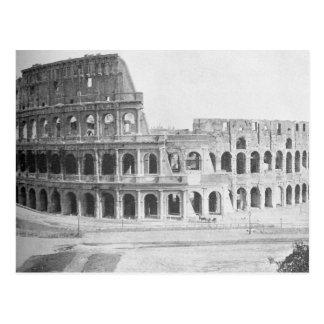 Le Colliseum à Rome, CA 1890 Carte Postale