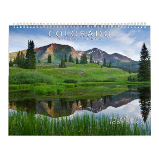 Le Colorado 2015 calendriers pittoresques