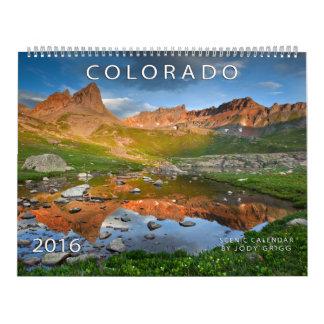 Le Colorado 2016 calendriers pittoresques