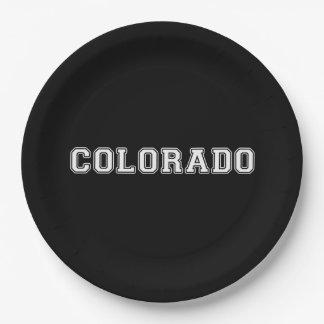 Le Colorado Assiettes En Papier