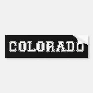 Le Colorado Autocollant De Voiture