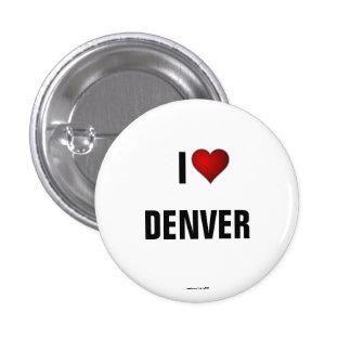 LE COLORADO : J'aime le bouton de pinback de Denve Badges