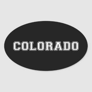 Le Colorado Sticker Ovale