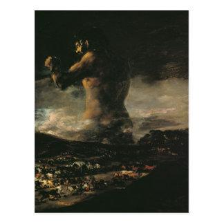 Le colosse, c.1808 cartes postales