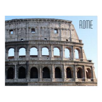 Le Colosseum carte postale à Rome, Italie