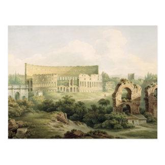 Le Colosseum, Rome, 1802 (la semaine au-dessus du  Cartes Postales