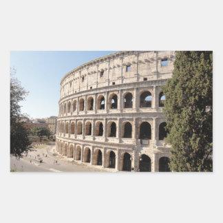 Le Colosseum (Rome) Sticker Rectangulaire