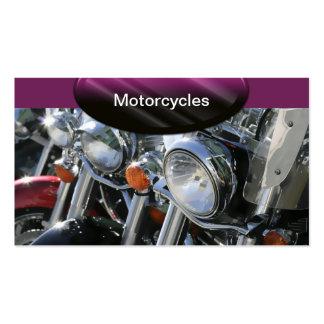 Le commerce de l'automobile carde des motos carte de visite standard