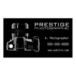 Le commerce de photographie carte de visite standard