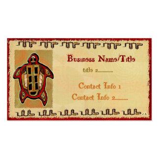 Le COMMERCE de VENDEUR de TATOUAGE maya d'art Carte De Visite Standard