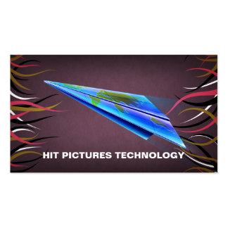 Le commerce électronique de la publicité de Hall Carte De Visite Standard