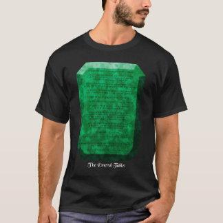 Le comprimé vert t-shirt