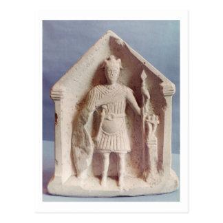 Le comprimé votif militaire, a trouvé chez Bisley, Carte Postale