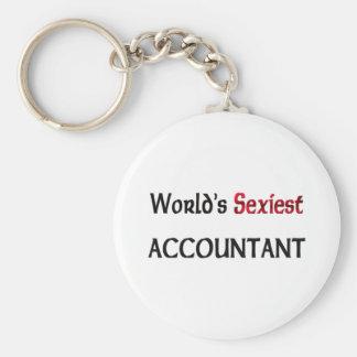Le comptable le plus sexy du monde porte-clés