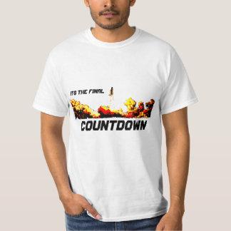 Le compte à rebours final t-shirt