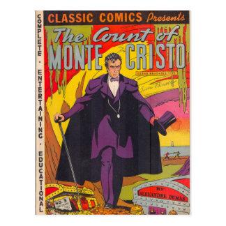 Le compte de Monty Cristo comique Cartes Postales