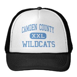 Le comté de Camden - chats sauvages - haut - Kings Casquettes