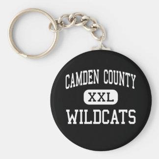 Le comté de Camden - chats sauvages - haut - Kings Porte-clé Rond