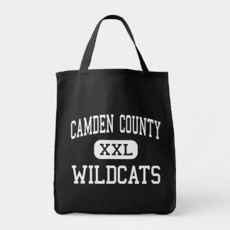Le comté de Camden - chats sauvages - haut - Kings Sac Fourre-tout