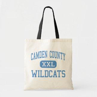Le comté de Camden - chats sauvages - haut - Kings Sacs De Toile