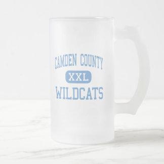 Le comté de Camden - chats sauvages - haut - Mug En Verre Givré