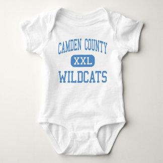 Le comté de Camden - chats sauvages - haut - T-shirt