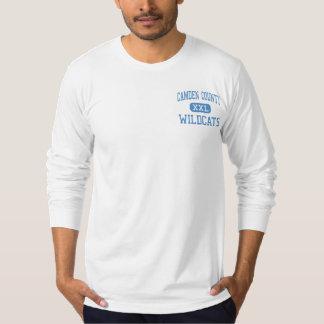 Le comté de Camden - chats sauvages - haut - T-shirts